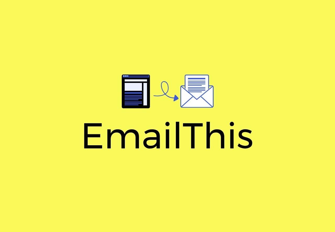 EmailThis premium lifetime deal logo