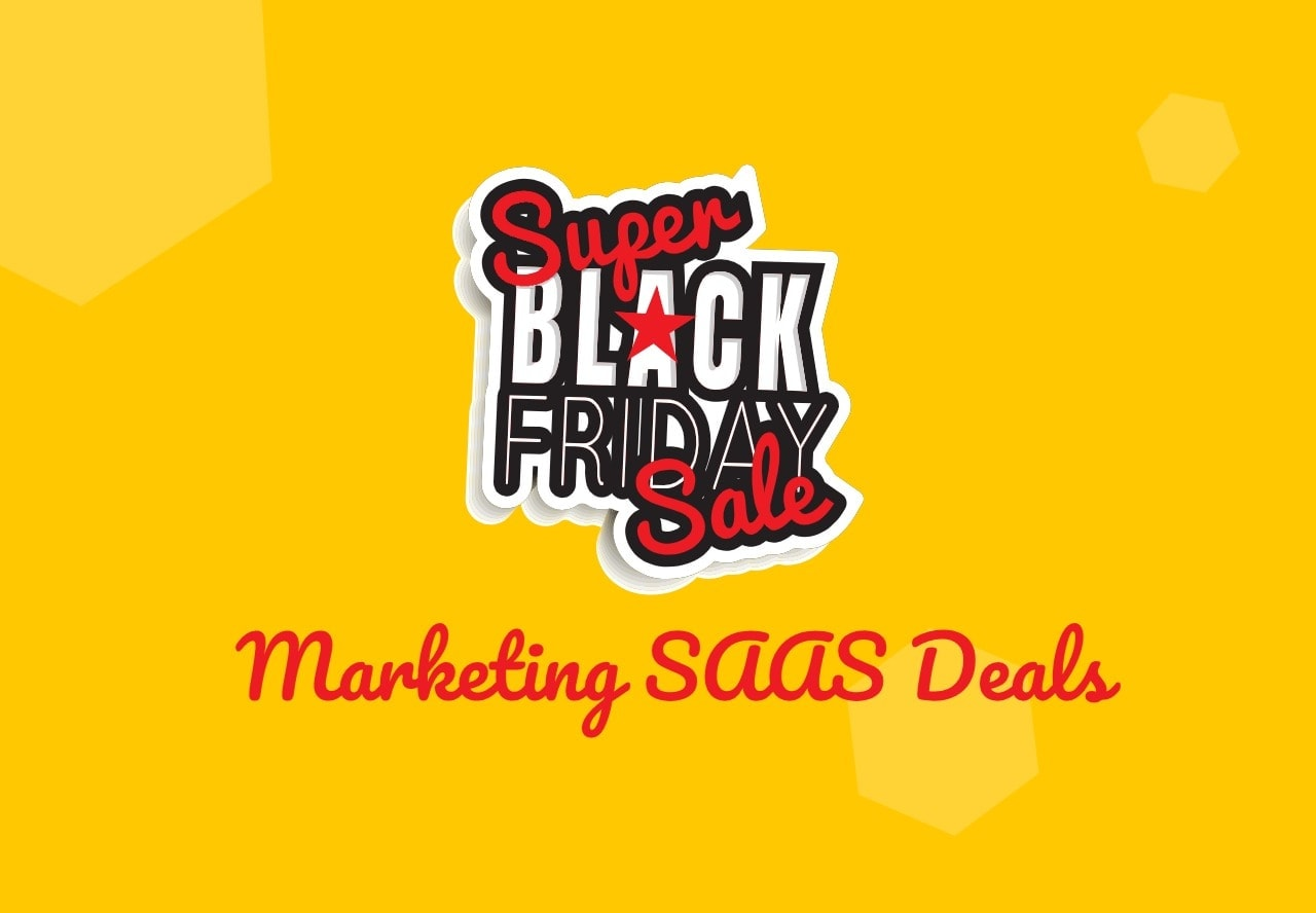 Black Friday SAAS deals