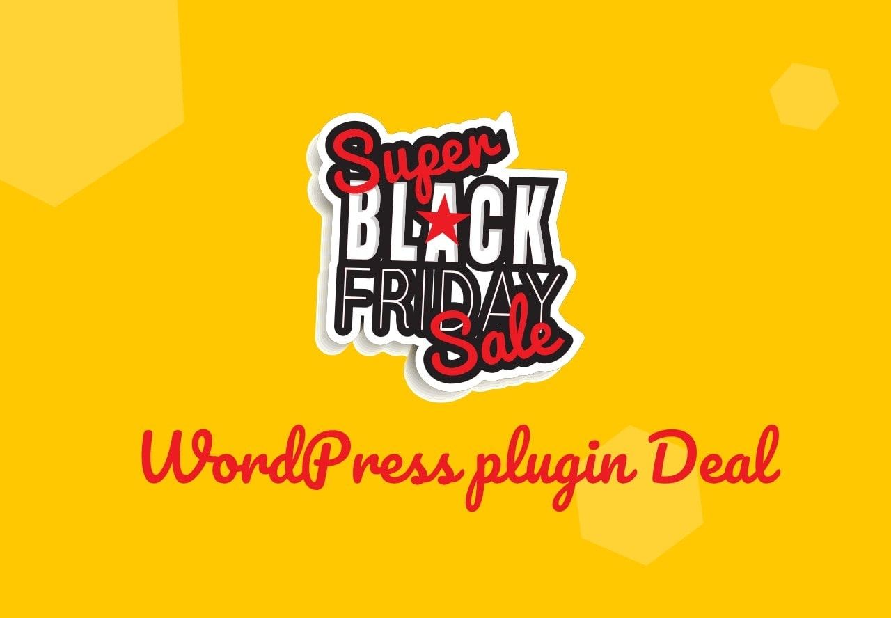 Black Friday WordPress plugin deals