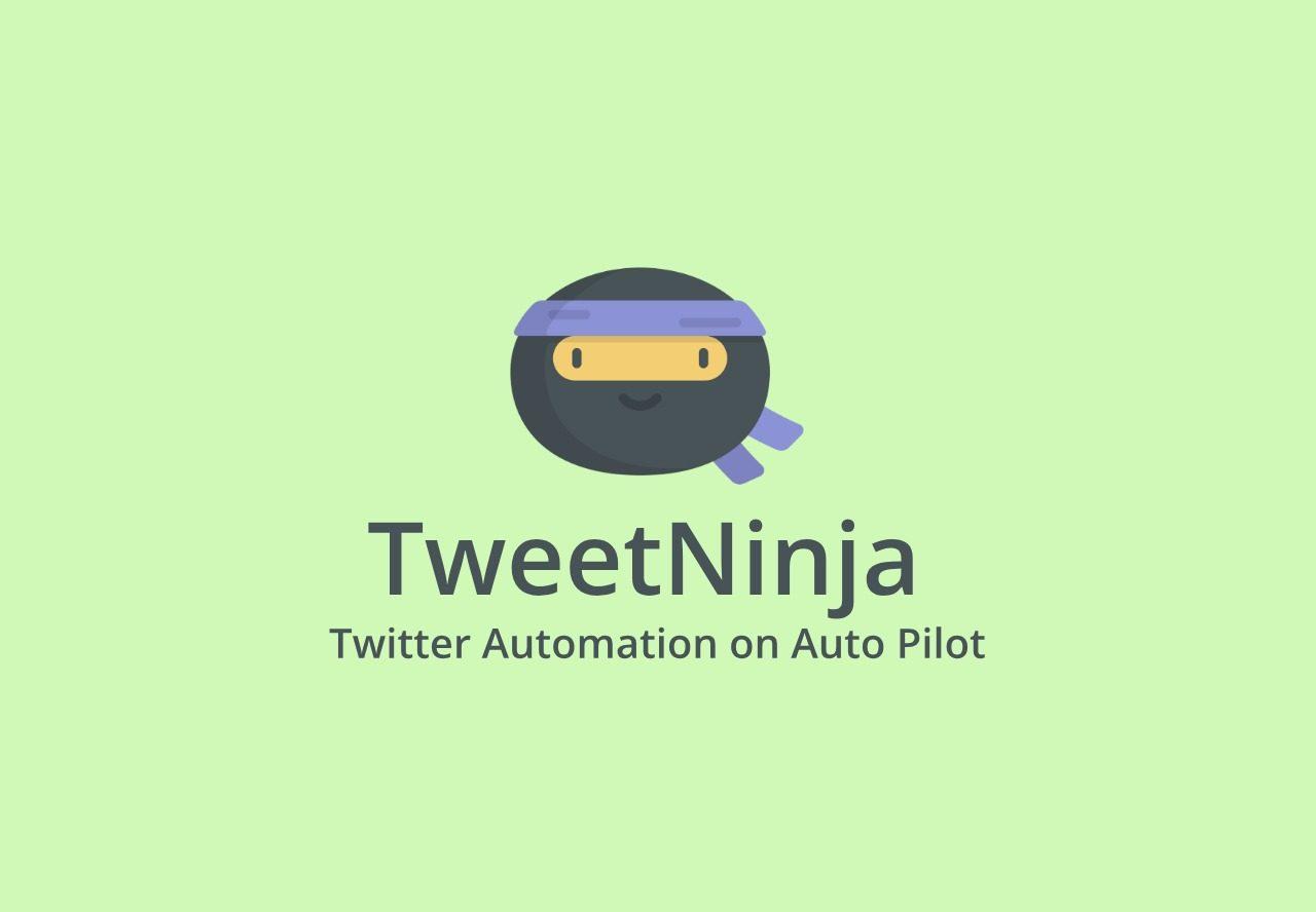 Tweet Ninja lifetime deal Automate twitter to increase engagement