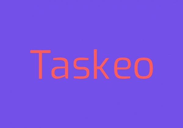 Taskeo Productivity tool