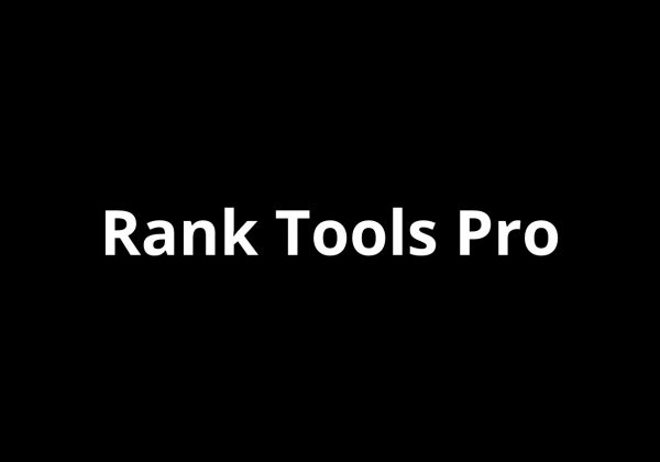 Rank Tools Pro Seo tools for website lifetime deal on dealfuel