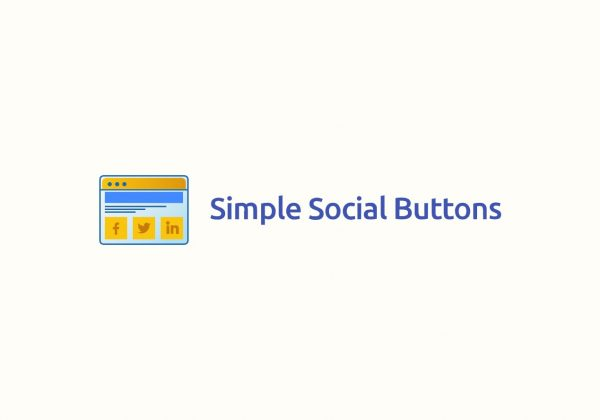 Simple Social buttons on appsumo lifetime deal