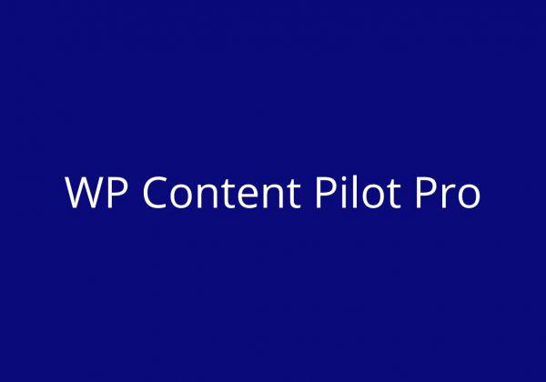 WP content pilot content curation tool