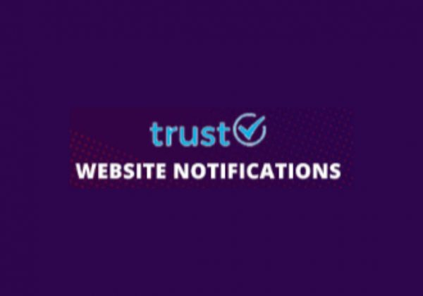 Trust Website notification lifetime deal on dealfuel