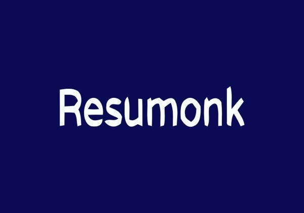 Resumonk resume maker lifetime deal on appsumo