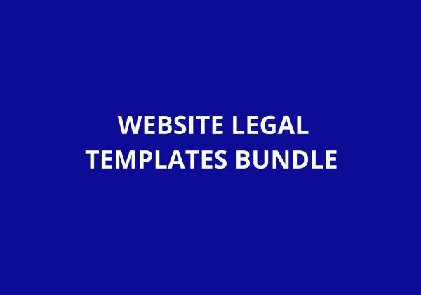 WEBSITE LEGAL TEMPLATES BUNDLE Lifetime Deal on Appsumo
