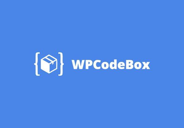WpCodeBox Official Lifetime Deal
