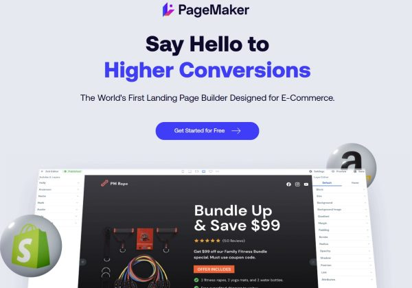 Page Maker lifetime deal on Pitchground