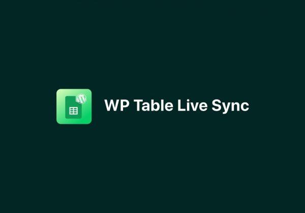 WP Table Live Sync Lifetime Deal